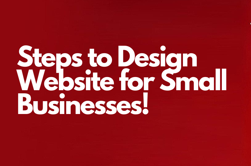 Design Website for Small Business